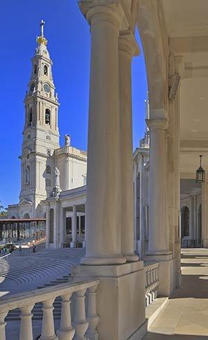 La Basilica di Nostra Signora del Rosario di Fatima