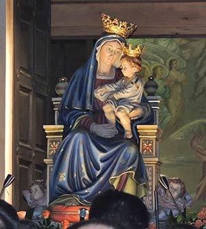 statua lignea della Madonna delle Grazie