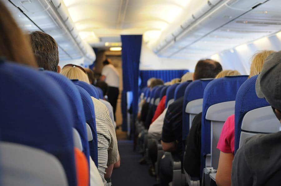 pellegrinaggi in aereo