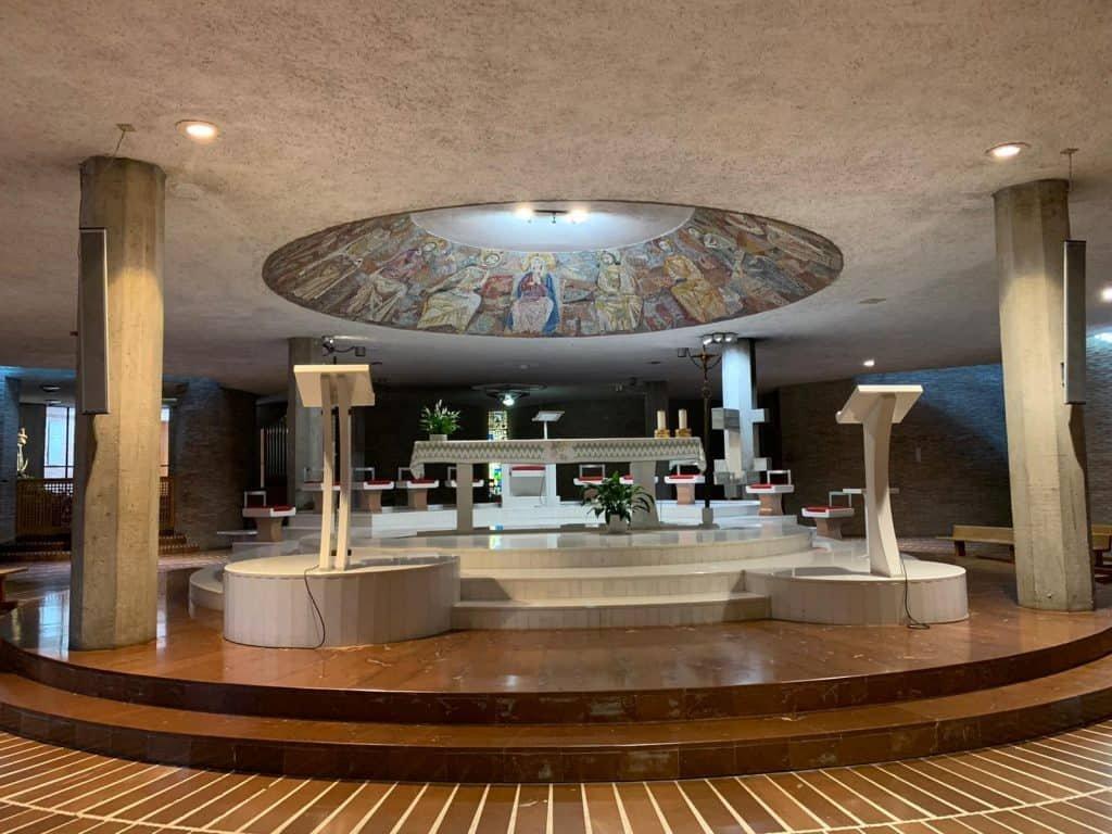 Santuario di Collevalenza cripta